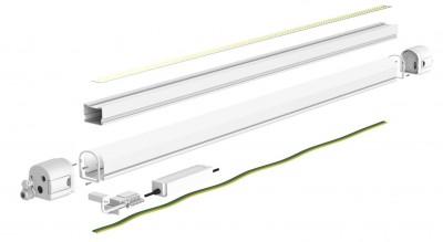 LED Tööstusvalgusti PROLUMEN T56 1200 (DALI)  40W 5400lm CRI80  120° IP65 4000K päevavalge