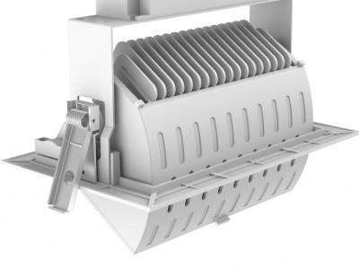 LED потолочный светильник PROLUMEN RD01-C белый  40W 3800lm  90° IP20 WW/DW/CW 3000K, 4000K, 6000K