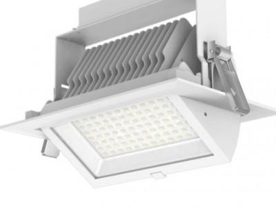 LED laevalgusti PROLUMEN RD01-C valge  40W 3800lm  90° IP20 WW/DW/CW 3000K, 4000K, 6000K
