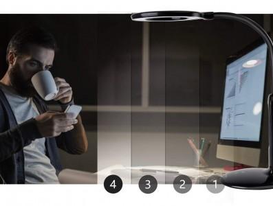 LED Laualamp AIGOSTAR LIGHT07 DIM must  7W 360lm CRI80  3000K, 4000K, 6000K WW/DW/CW