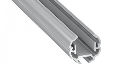 LED aluminium strip LUMINES COSMO silver 2m