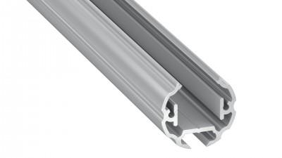 LED Alumiiniumliist LED Alumiiniumliist LUMINES COSMO hõbe 2m