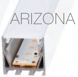 Aluminium profile  ARIZONA 2,5m silvery