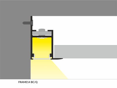 Alumiiniumprofiil Alumiiniumprofiil  FRAME14 BC/Q 2m