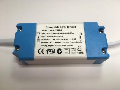 LED Liiteseade LED Liiteseade  300mA 15-30V,  DIM  9W  IP20