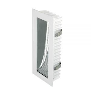 LED-seinävalaisin LED-seinävalaisin PROLUMEN WL02 valkoinen  3W 175lm CRI80  60° IP54 3000K lämmin valkoinen