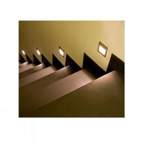 LED wall light PROLUMEN WL02 white 230V 3W 175lm CRI80 60° IP54 3000K warm white