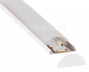 Aluminium profile Aluminium profile LUZ NEGRA Berna 2m white