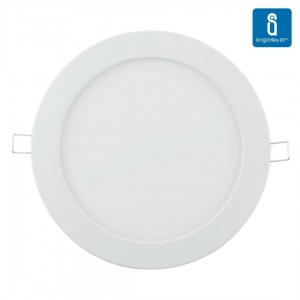 LED panel LED panel AIGOSTAR E6 white round 16W 1180lm CRI80  160° IP20 4000K pure white