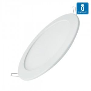 LED panel AIGOSTAR E6 D170 white round 230V 16W 1180lm CRI80 160° IP20 4000K pure white