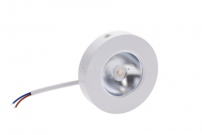 LED furniture light LED furniture light REVAL BULB FD DIM white round 5W 450lm CRI80  30° IP20 3000K warm white