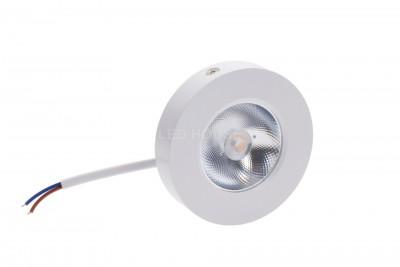 LED Mööblivalgusti LED Mööblivalgusti REVAL BULB FD DIM valge ring 5W 450lm CRI80  30° IP20 3000K soe valge