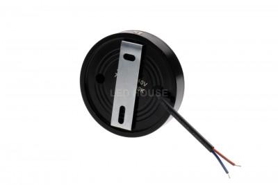 LED Mööblivalgusti REVAL BULB FD DIM must ring 230V 5W 450lm CRI80 30° IP20 3000K soe valge