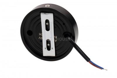 LED Mööblivalgusti REVAL BULB FD DIM must ring 230V 10W 900lm CRI80 30° IP20 3000K soe valge