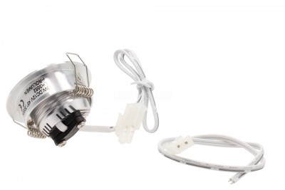 LED Mööblivalgusti REVAL BULB MV-H hõbedane ring 12V 3W 115lm CRI80  45° IP20 3000K soe valge