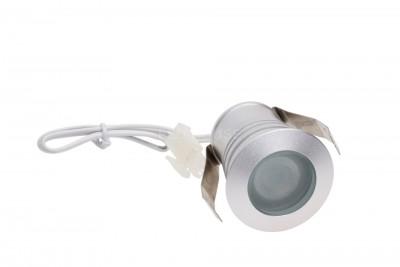 LED Mööblivalgusti LED Mööblivalgusti REVAL BULB MV-I hõbedane ruut 12V 3W 115lm CRI80 60° IP20 3000K soe valge