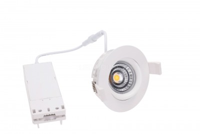 LED Allvalgusti PROLUMEN Smart Plus 9WF DIM valge ring 9W 700lm CRI90  40° IP44 3000K soe valge