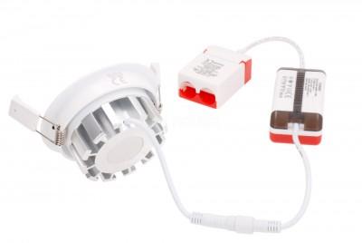 LED Allvalgusti PROLUMEN VIKING DIM valge ring 230V 8W 950lm CRI92 40° IP44 3000K soe valge
