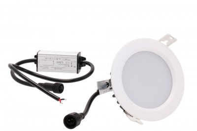 LED downlight LED downlight PROLUMEN XH round 230V 15W 1200lm CRI82 120° IP65 4000K pure white