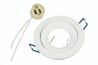 Valgusti raam  1078 valge ring
