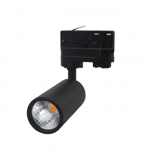 LED Siinivalgusti PROLUMEN Bolton DIM must 230V 10W 900lm CRI90 24° IP20 4000K päevavalge