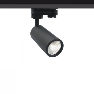 LED track light PROLUMEN Bolton‎ DIM black 230V 10W 900lm CRI90 24° IP20 2700K warm white
