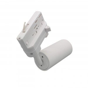 LED track light PROLUMEN Bolton‎ DIM white 230V 10W 900lm CRI90 24° IP20 2700K warm white