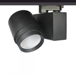 LED track light PROLUMEN Bradford black 230V 32W 3000lm CRI90 38° IP20 3000K warm white
