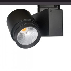 LED Siinivalgusti PROLUMEN Bradford DIM must  32W 3000lm CRI90  38° IP20 3000K soe valge