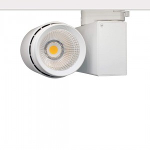 LED track light PROLUMEN Bradford white 230V 32W 3000lm CRI90 38° IP20 3000K warm white