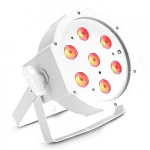 LED floodlight LED floodlight CAMEO FLAT PAR 7 x 4W DMX white   20° RGBW