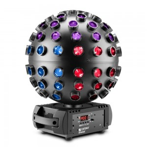 Lighting effect Lighting effect CAMEO LED Mirror Ball Emulator DMX RGBWA+UV white 70W