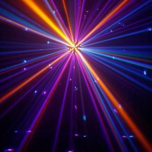 Valgusefekt CAMEO LED Meremiin DMX RGBWA+UV valge 70W