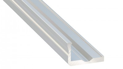 Alumiiniprofiili Alumiiniprofiili LUMINES Type F 2m hopea