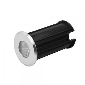 LED põrandavalgusti LED põrandavalgusti  D52 hõbedane ring 12V 3W 270lm CRI80  30° IP65 4000K päevavalge