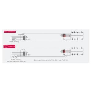 Toiteplokk LTECH 24V DC LM-75-24-G1D2 (DALI / PUSH DIM) 230V 75W
