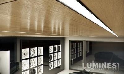 Alumiiniumprofiil LUMINES INSO 3m hõbedane