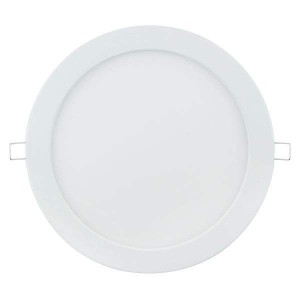 LED panel LED panel AIGOSTAR E6 white round 230V 24W 1650lm CRI80 120° IP20 3000K warm white