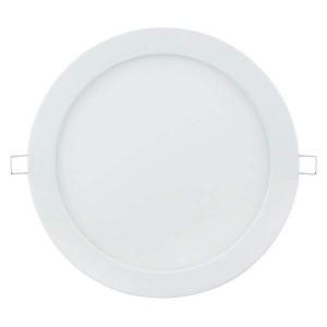 LED panel LED panel AIGOSTAR E6 white round 230V 24W 1650lm CRI80 120° IP20 3000K warm white