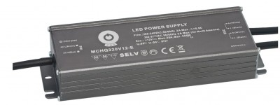 LED Toiteplokk POS POWER 24V MCHQ320V-E 230V 321W IP67