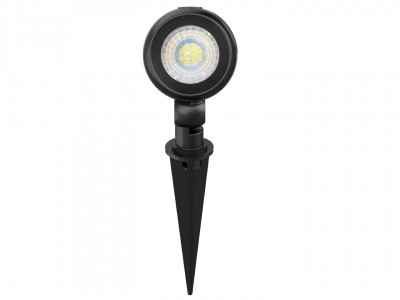 LED Aiavalgusti PROLUMEN ML07 must 12V 10W 800lm CRI80 36° IP65 3000K soe valge