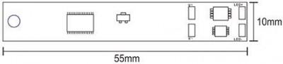 Lüliti  ON OFF + DIM puuduta profiili  12-24V 72W  IP20