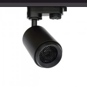 LED Siinivalgusti LED Siinivalgusti PROLUMEN Bath + kärgfilter must 230V 8W 650lm CRI90 50° IP20 3000K soe valge