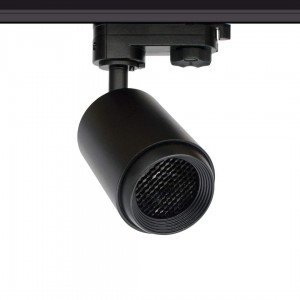 LED track light LED track light PROLUMEN Bath + Honeycomb filter black 230V 8W 650lm CRI90 50° IP20 4000K pure white