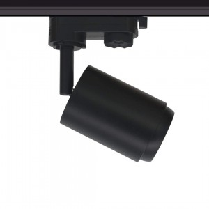 LED track light PROLUMEN Bath + Honeycomb filter black 230V 8W 650lm CRI90 50° IP20 4000K pure white