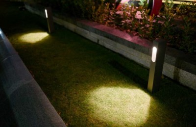 Luminaire REVAL BULB Bollard light Abigail black 230V 7W 630lm CRI80 360° IP65 3000K warm white