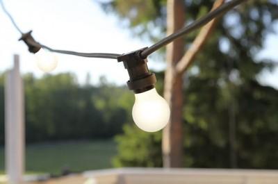LED bulb G45 230V 1W 15lm E27 2700K warm white