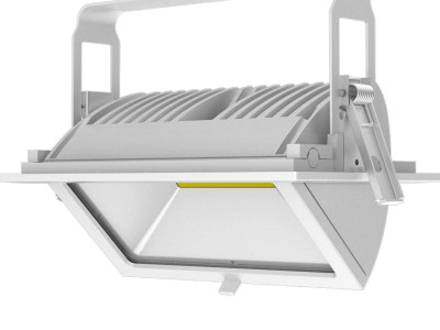 LED laevalgusti PROLUMEN RD01 valge 230V 45W 3550lm CRI80 120° IP20 4000K päevavalge