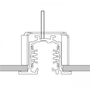 Voolusiin Voolusiin POWERGEAR 3F 2m PRO-R420-W süvistatav valge 230V