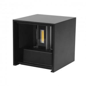 LED-seinävalaisin LED-seinävalaisin REVAL BULB A100 musta 230V 12W 840lm CRI80 IP65 3000K lämmin valkoinen